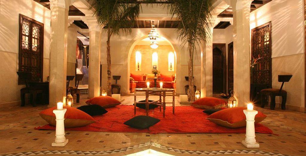 Partez au coeur de Marrakech...