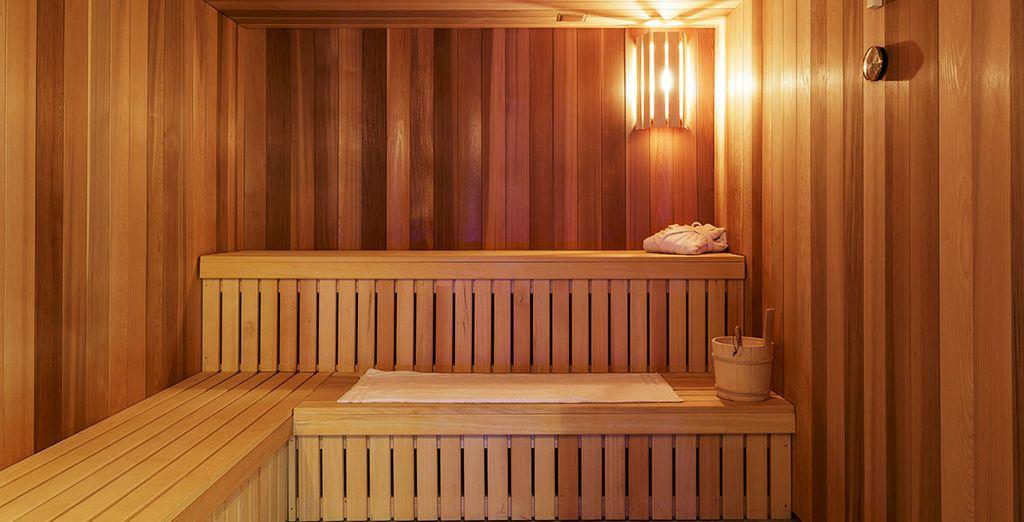 Et profitez du sauna