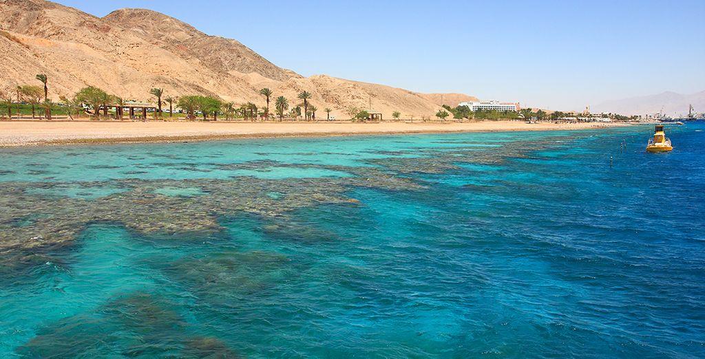 Plage paradisiaque de la mer Rouge en Egypte