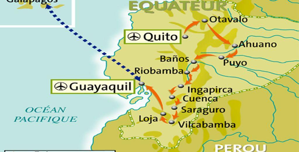 - Circuit en Equateur