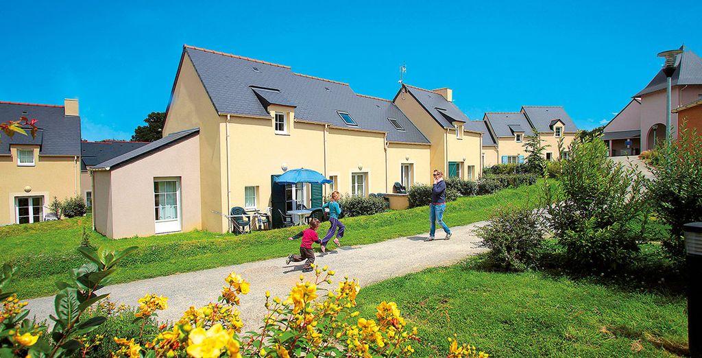 Une résidence pleine de charme pour des vacances en famille