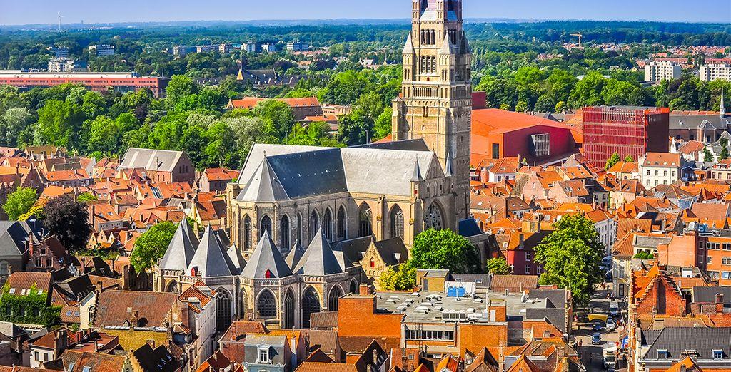situé dans le centre historique de la ville. - Hôtel Martin's Brugge  Bruges