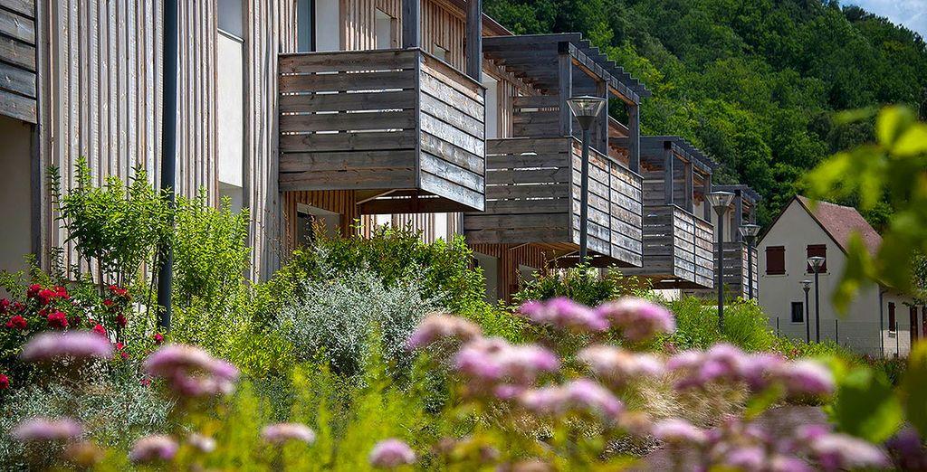 Cette résidence vous offre un cadre paisible dans le respect de l'environnement local.