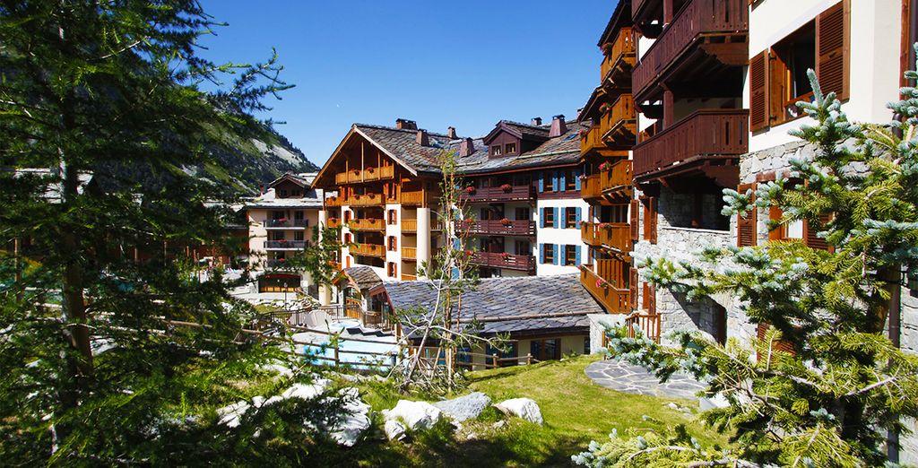 La résidence Pierre & Vacance vous accueille aux Arcs 1950... - Résidence Premium Arcs 1950 Le Village Bourg Saint Maurice