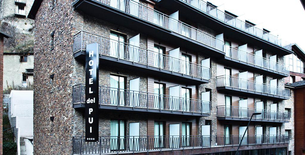 Vous voilà arrivé à l'hôtel del Pui...