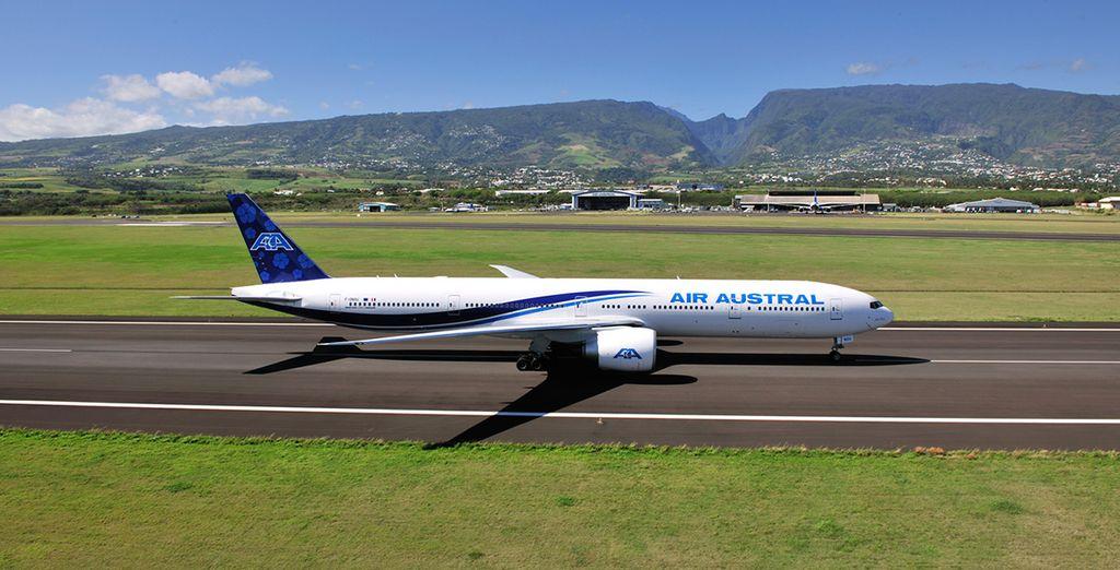 Rejoignez votre destination avec la compagnie Air Austral