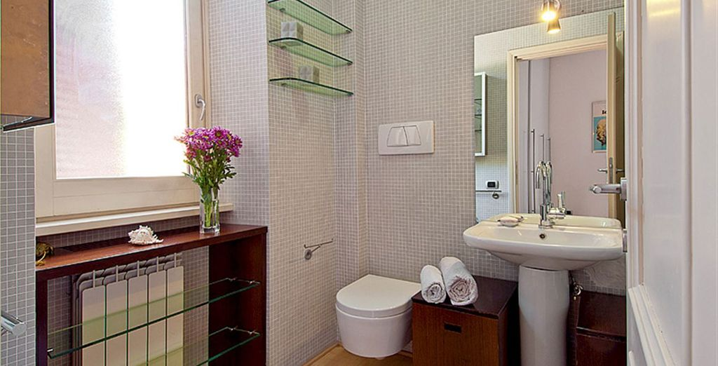 Appartement 1: La salle-de-bains