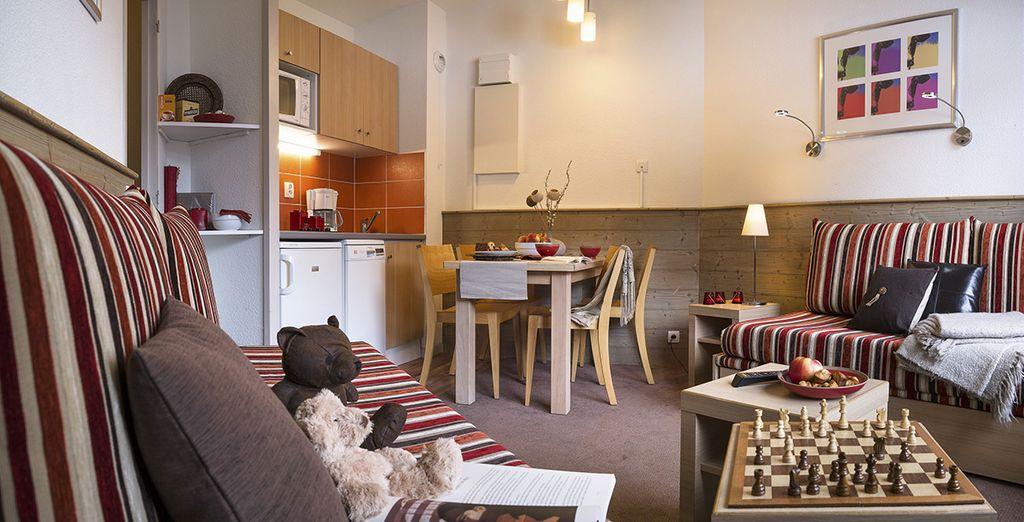 Aux appartements modernes et fonctionnels