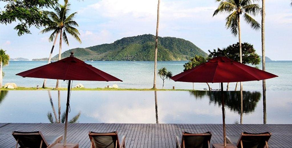 La vue depuis le resort - The Vijitt Resort ***** Phuket