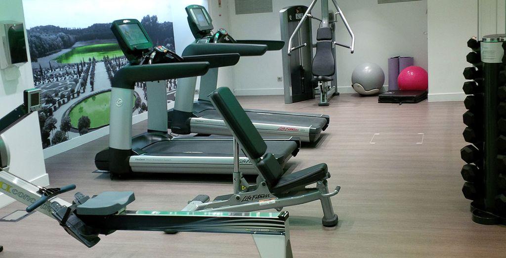 Occupez-vous de votre corps dans la salle de fitness