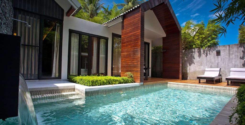 Pour un séjour inoubliable, vous poserez vos valises en Villa Deluxe Pool
