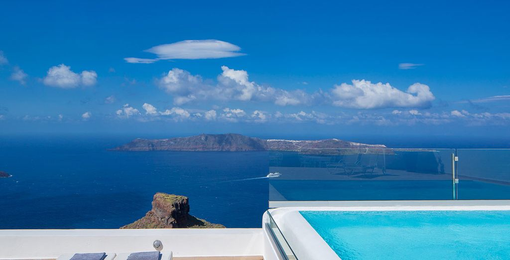 Plongez vos yeux dans le bleu intense de ce paysage...
