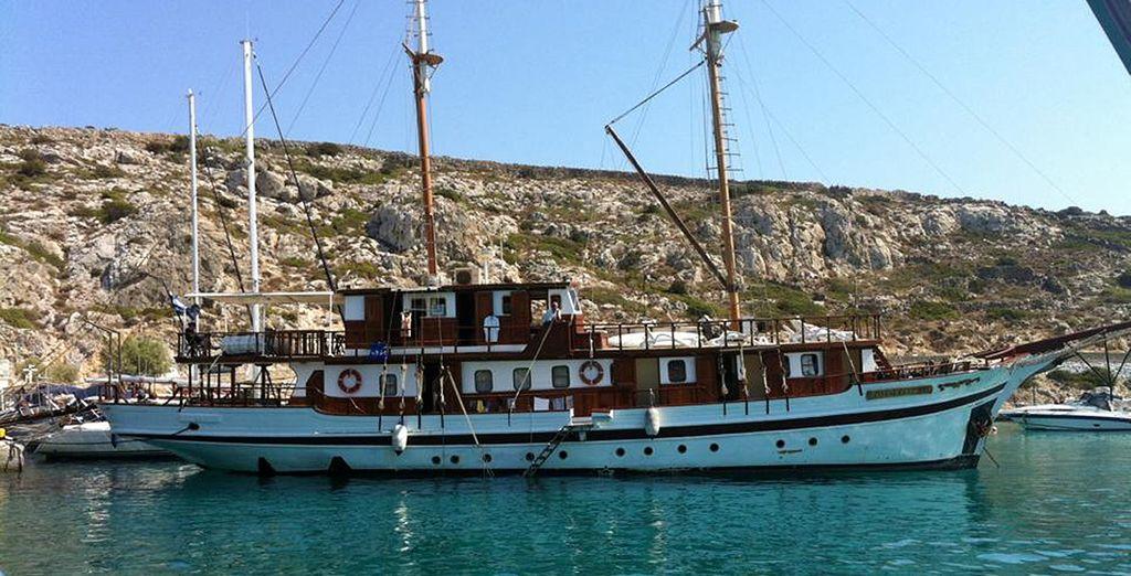 Embarquez dans un caïque pour découvrir les îles grecques