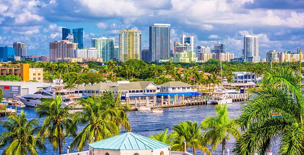 Photographie de la Floride et de Fort Lauderdale aux Etats-Unis