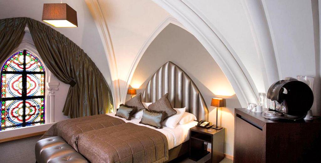 Offrez-vous le confort de la Grande Chambre de l'hôtel Martin's Patershorf