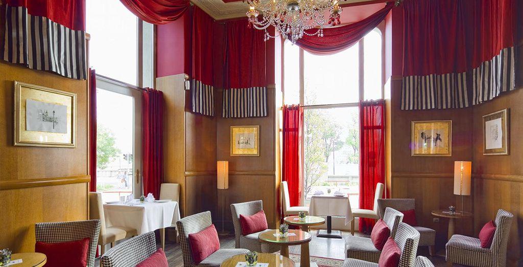 Le Lounge Bar sera le lieu idéal pour une pause détente