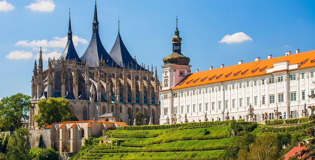 avant de vous échapper vers Kutná Hora, classée au patrimoine mondiale de l'UNESCO...