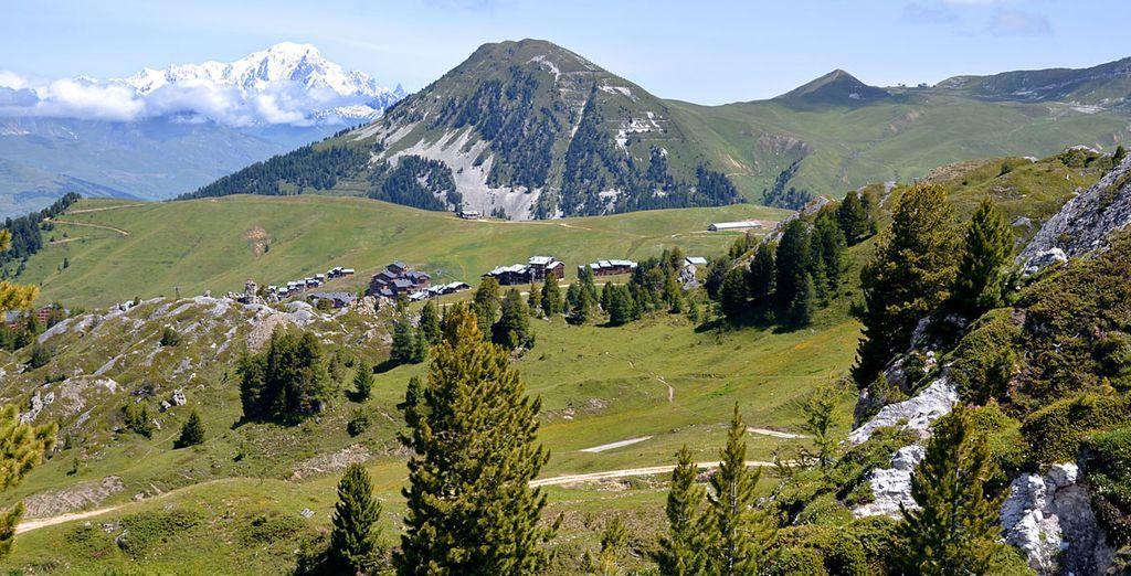 Ou partez à la découverte du Mont-Blanc...