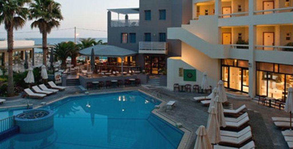 - Hôtel Sentido Pearl Beach**** - Rethymnon - Crète Rethymno