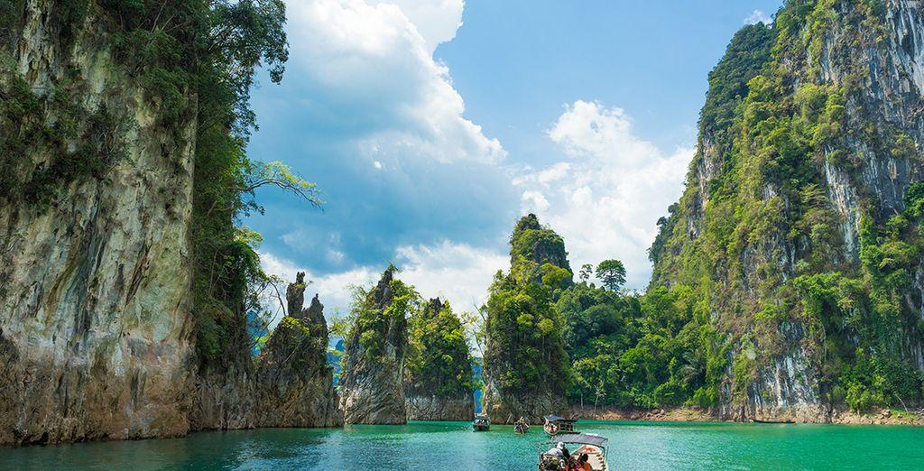 Photographie de la Thailande et les Baie de Phang Nga
