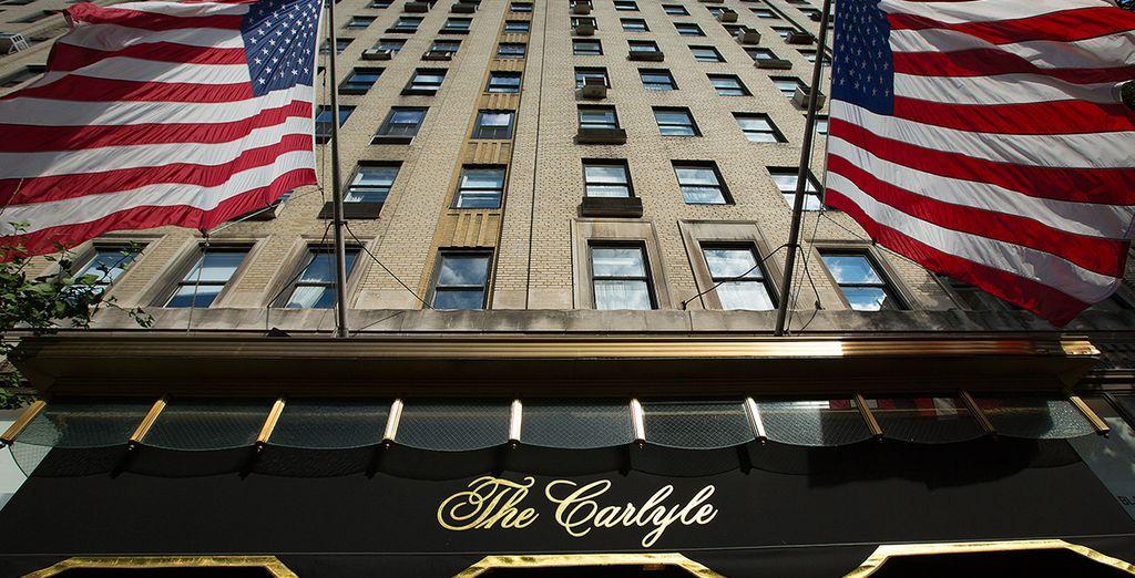 L'hôtel Carlyle 5*
