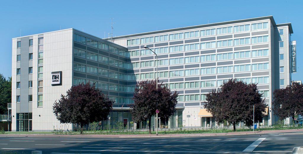 Au départ de l'hôtel NH Frankfurt Niederrad 4*