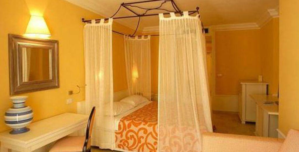 La chambre - Hôtel Riviera Carloforte **** - Carloforte - Sardaigne Carloforte