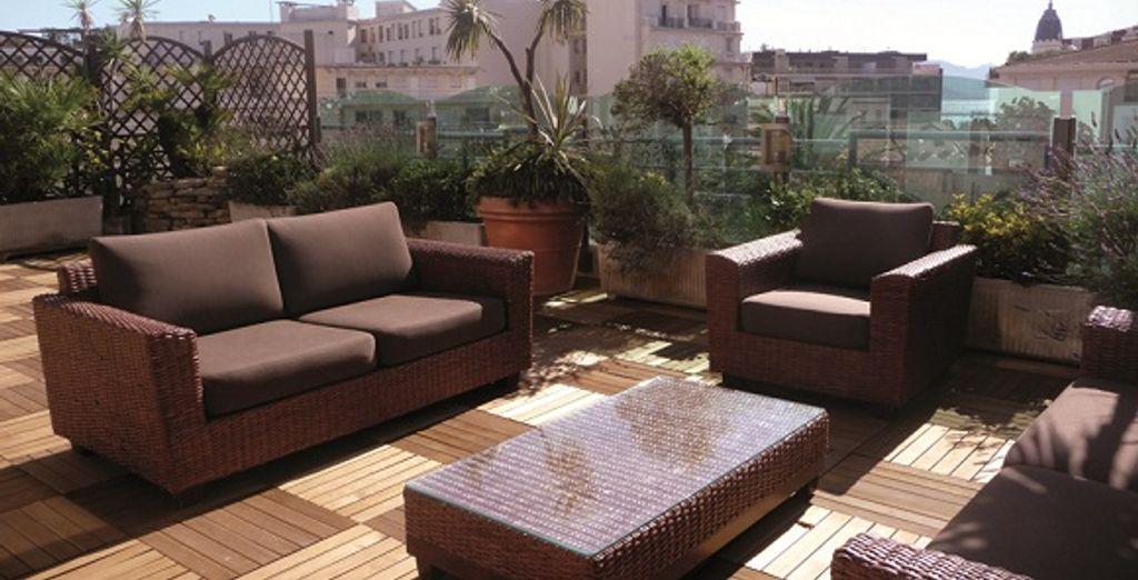 La terrasse - Park & Suites Prestige Cannes Croisette Cannes
