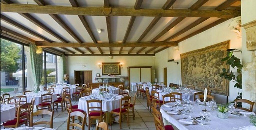 La salle du restaurant L'Epicurien
