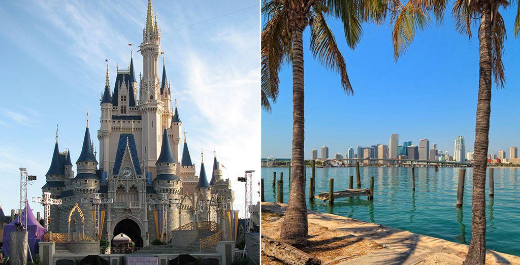 En route pour l'aventure... - Combiné Orlando et Miami en 8 jours/7 nuits -  B Resort Lake Buena Vista 4* & Daddy O 4* Orlando