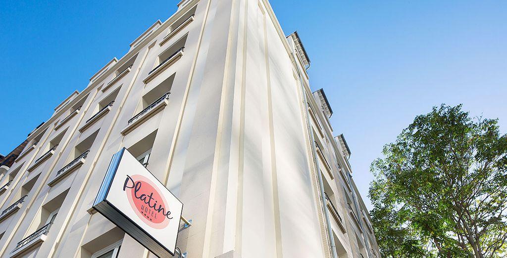 Poussez les portes du retro chic et glamour hôtel Platine !  - Hôtel Platine 4*  Paris