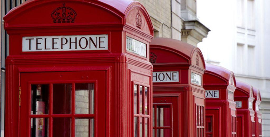 Les fameuses cabines téléphoniques anglaises - The Montague on The Gardens **** Londres