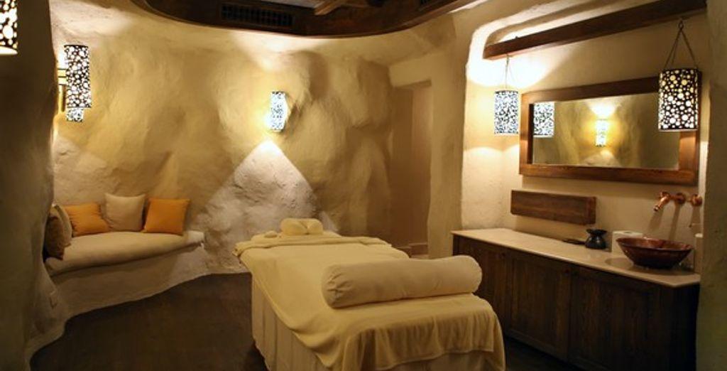 Une salle de massage
