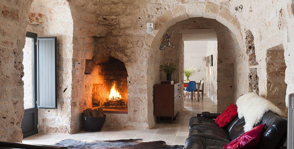 Un intérieur authentique et chaleureux