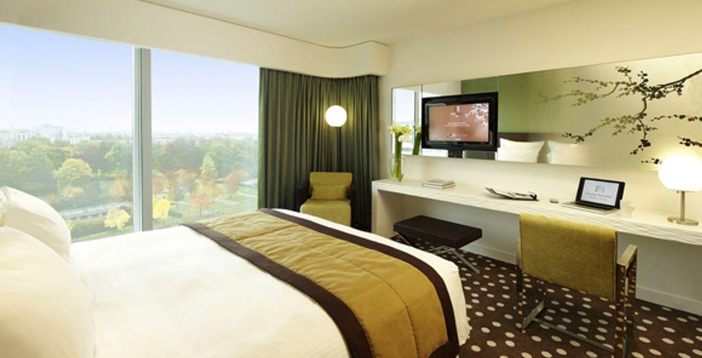 La chambre Deluxe - Hôtel Barrière Lille ***** Lille