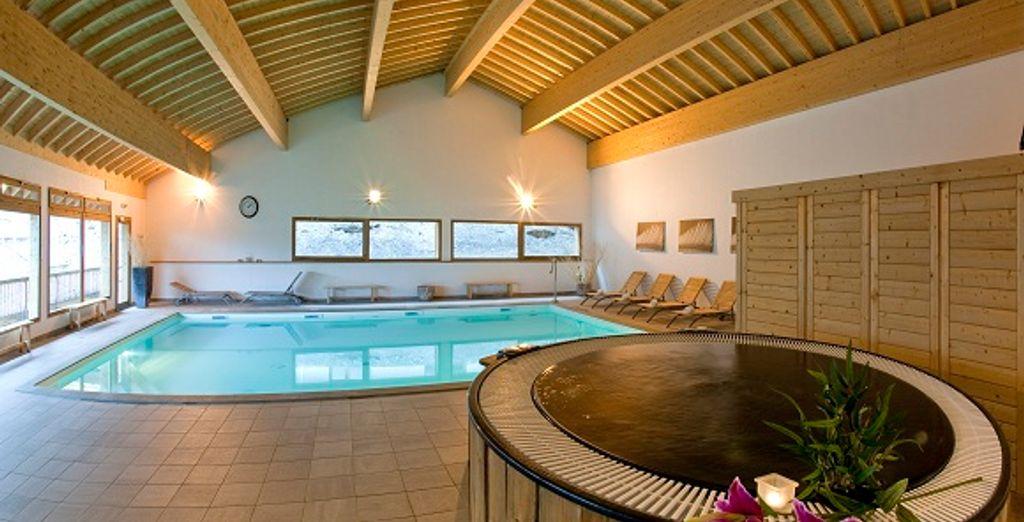 Le Spa et la piscine intérieure