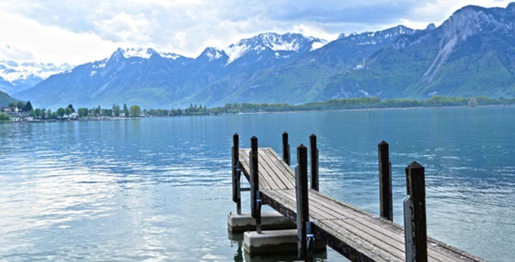 La vue sur le lac Léman - Hôtel de la Paix ***** Genève