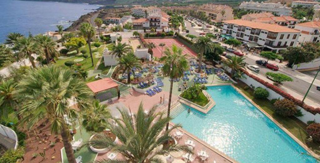 Une vue aérienne du resort - Hôtel Blue Sea Interpalace **** Puerto La Cruz