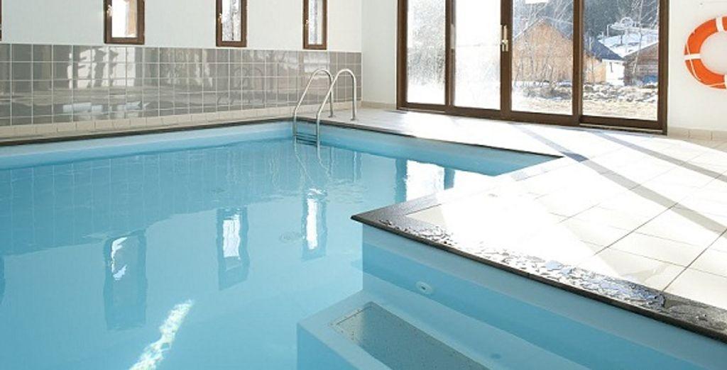 La piscine intérieure - Résidence les Terrasses de la Toussuire La Toussuire