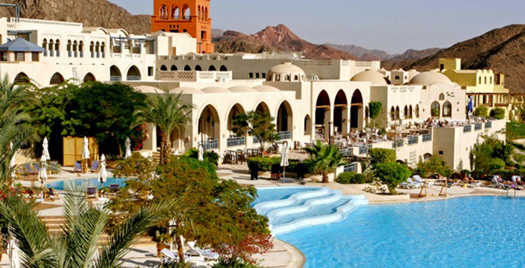 L'hôtel et sa piscine - Hôtel Three Corners El Wekala Golf Resort **** Taba