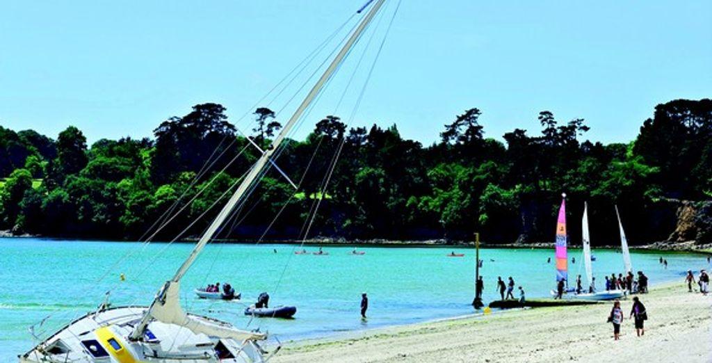 Profitez de la plage pour pratiquer des activités nautiques