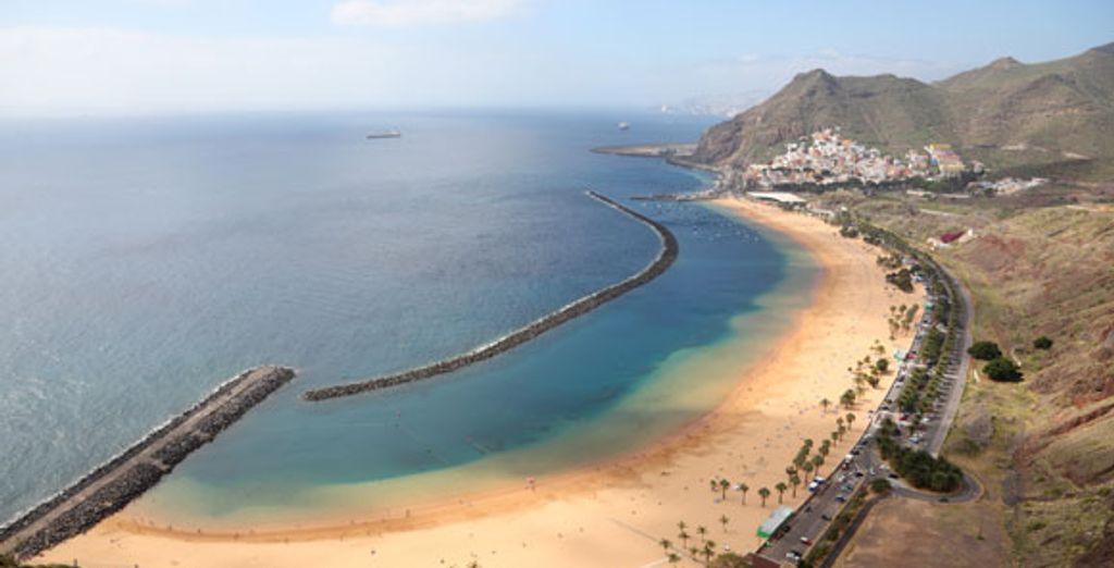 Une vue de Tenerife