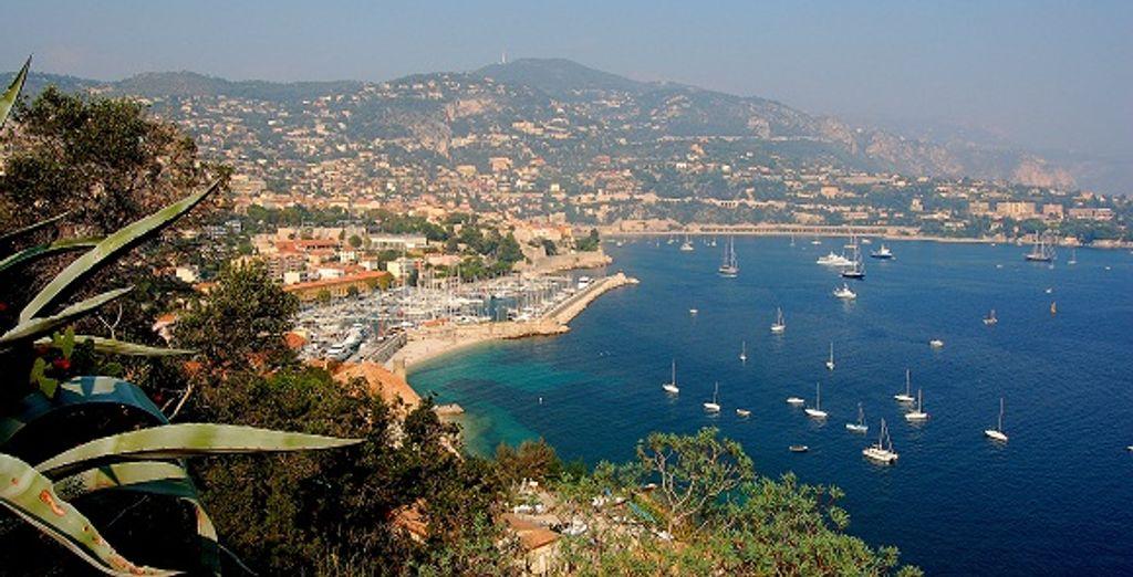 La vue sur Nice - Hôtel Boscolo Exedra ***** Nice