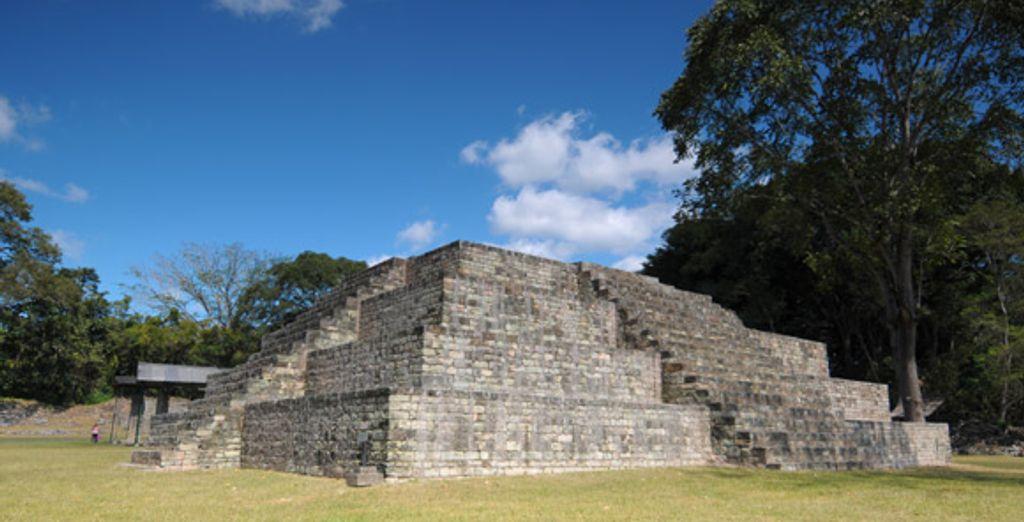 Les ruines Maya
