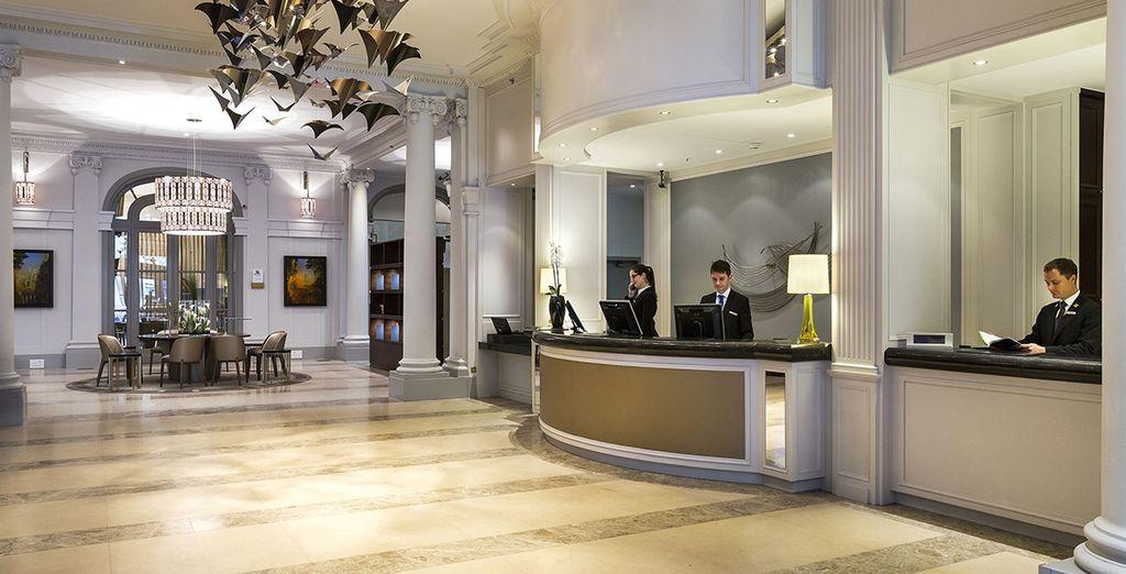 L'hôtel Marriott Opéra 4* vous accueille