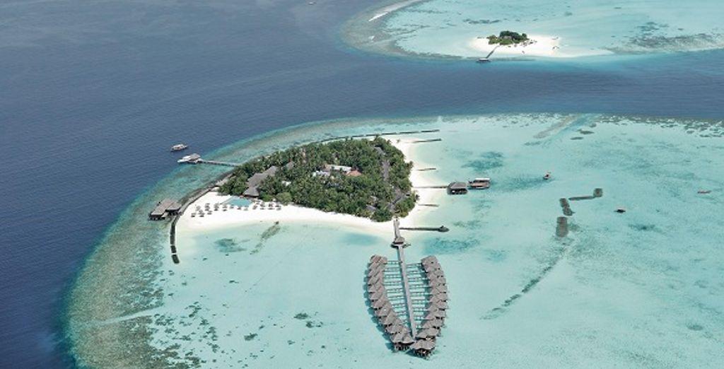 Bienvenue Maafushivaru Island Resort ! Le paradis sur terre...