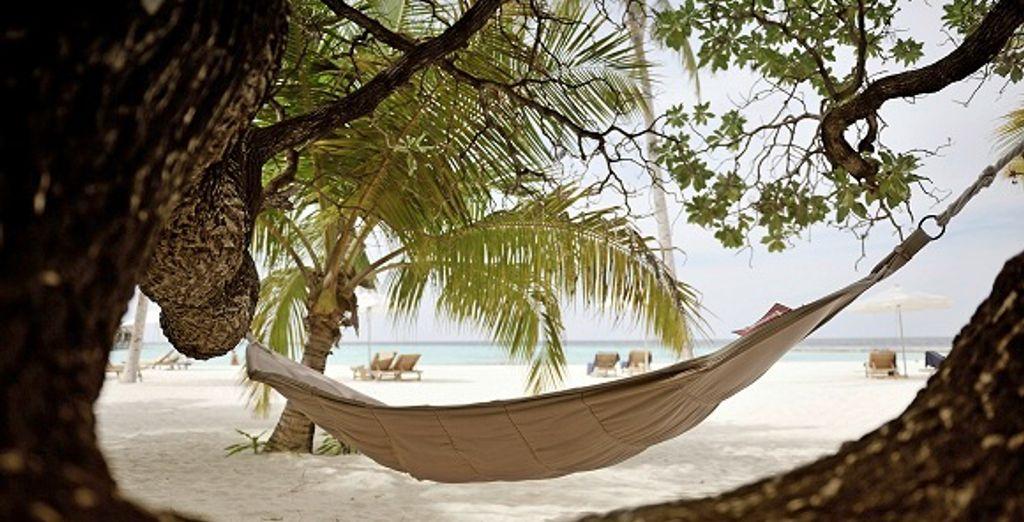 Ou sur la plage dans le hamac
