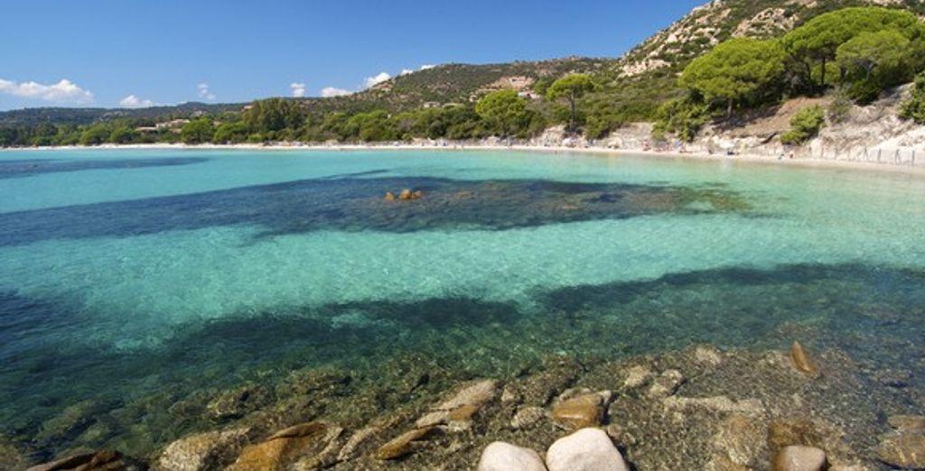 Les eaux turquoise de Corse - Résidence Sognu di Mare Bravone