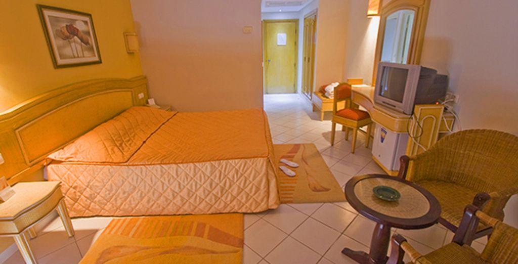 Votre chambre standard - Hôtel Hammamet Garden Resort & Spa **** Hammamet