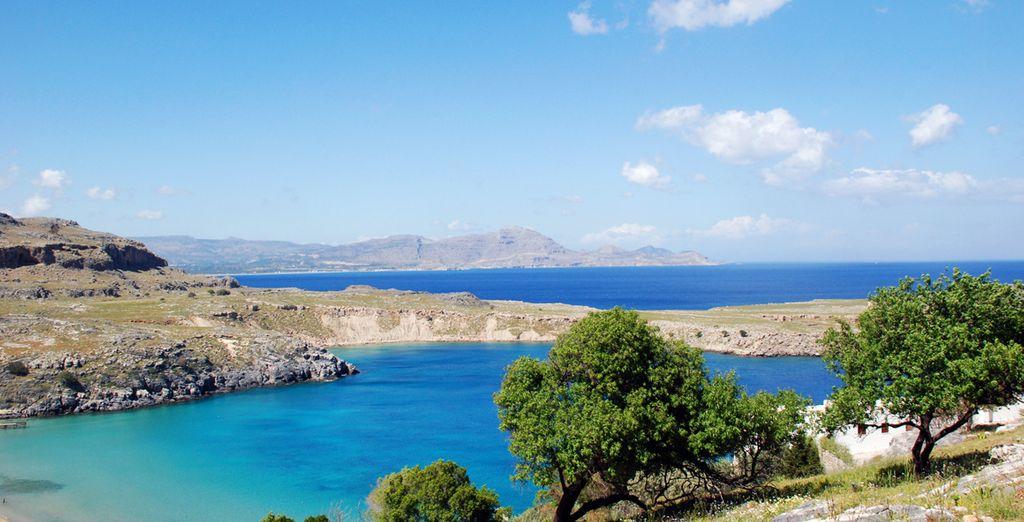 sur une île merveilleuse...